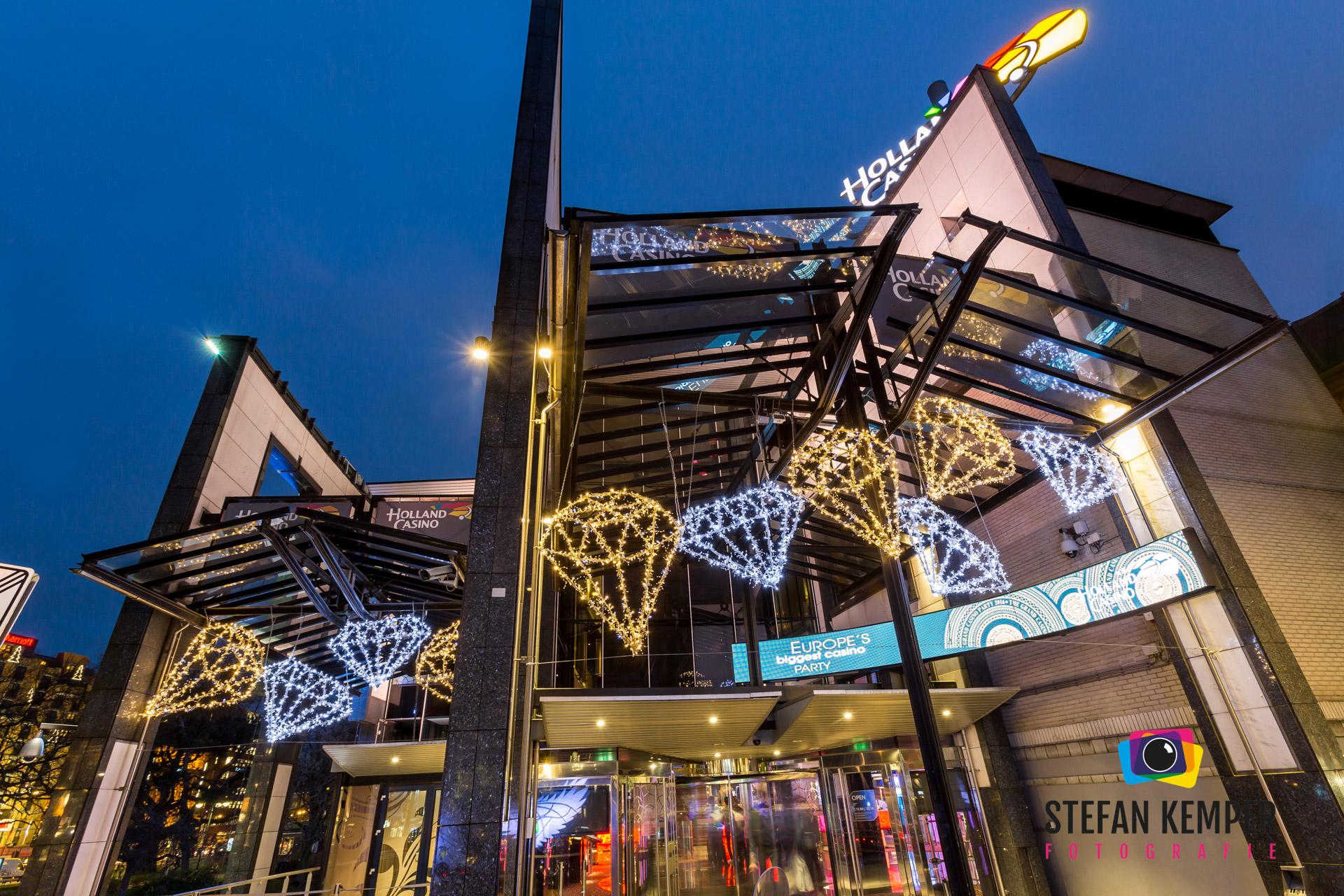 kerstverlichting Holland casino Amsterdam